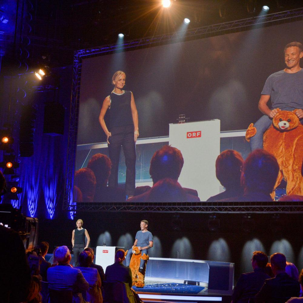 ORF Werbehahn Verleihung