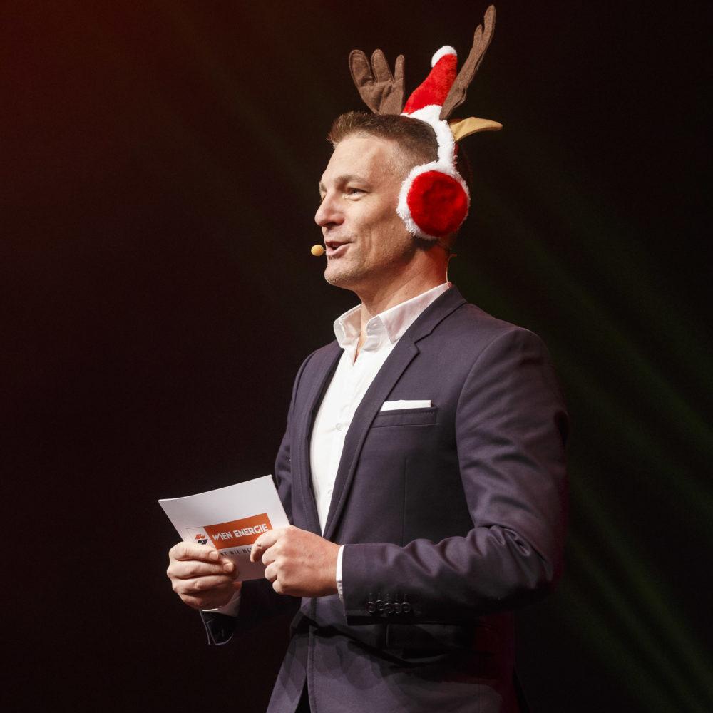 Moderation Weihnachtsfeier Wien Energie